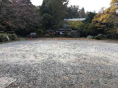 箱根 長安寺駐車場