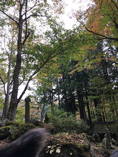 箱根長安寺の紅葉