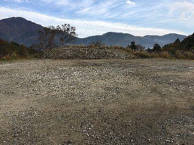 箱根ススキ草原の駐車場