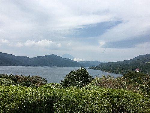 恩賜箱根公園の展望台からの眺め画像