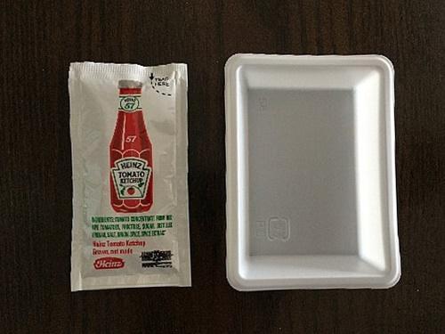 バーガーキングのケチャップと容器