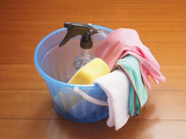 お風呂掃除用の道具