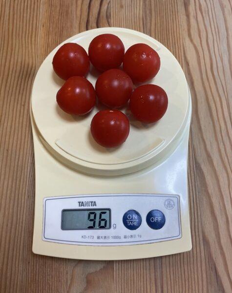 96g分のミニトマト