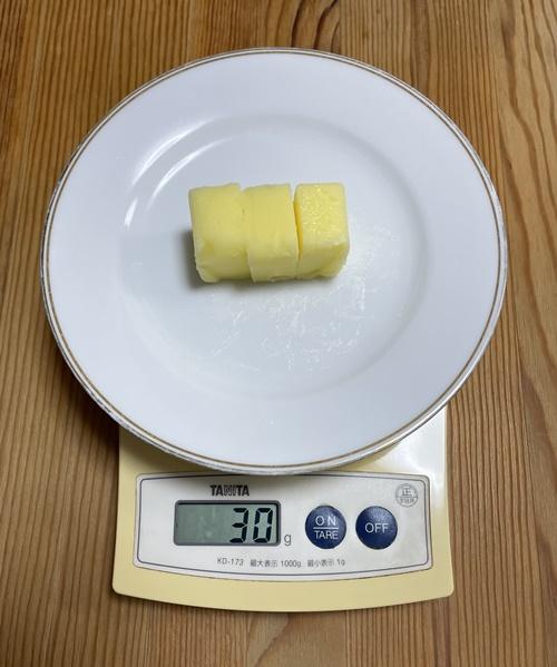 30g分のバター