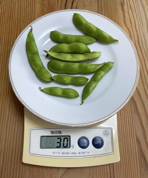 30g分の枝豆