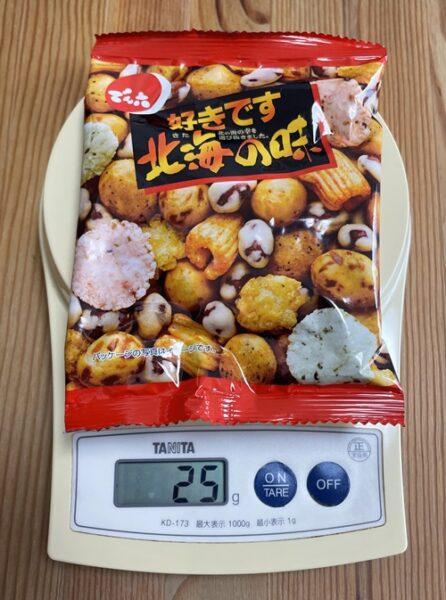25gの北海の味の小袋